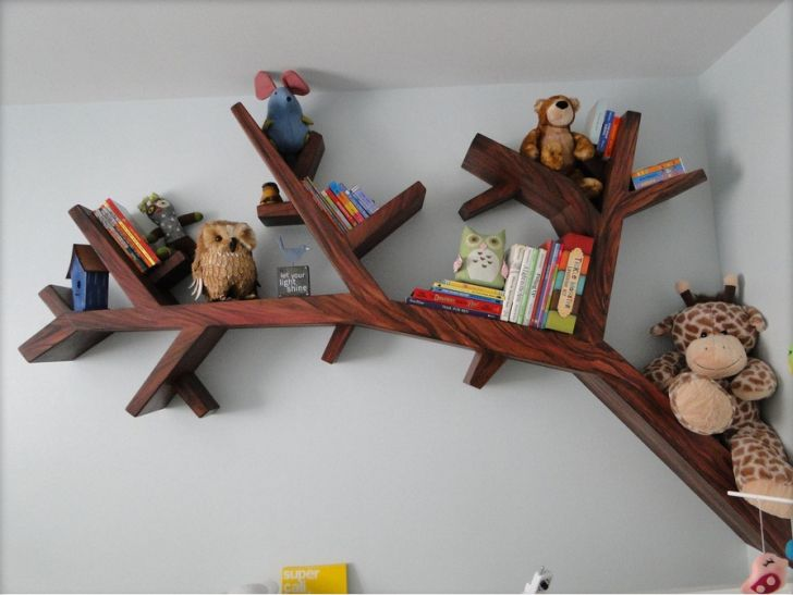 Tree Bookcase Design Ideas