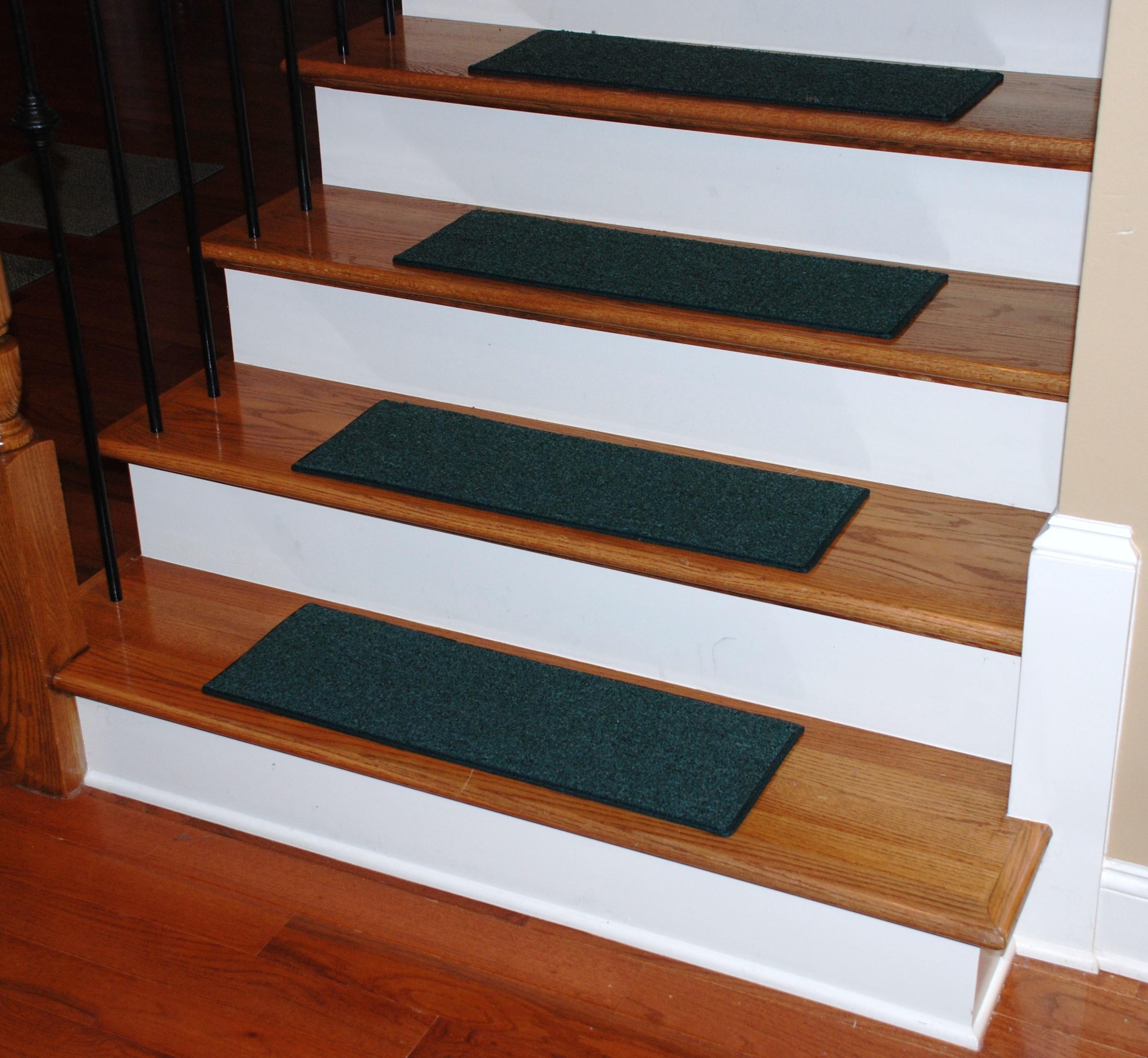 Carpet Stair Treads Hunter Green