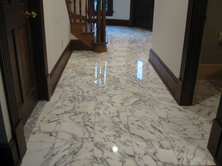 How to Clean Marble Floors and Grout