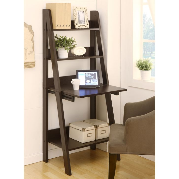 Ladder Bookcases in 4 Shelf