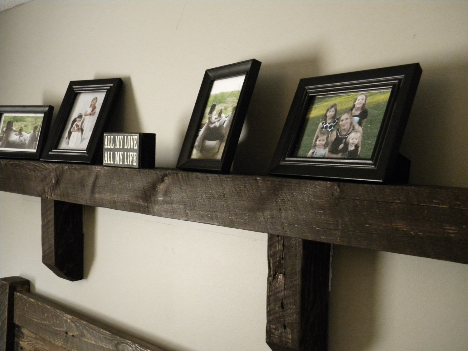 Mantel Shelf Rustic