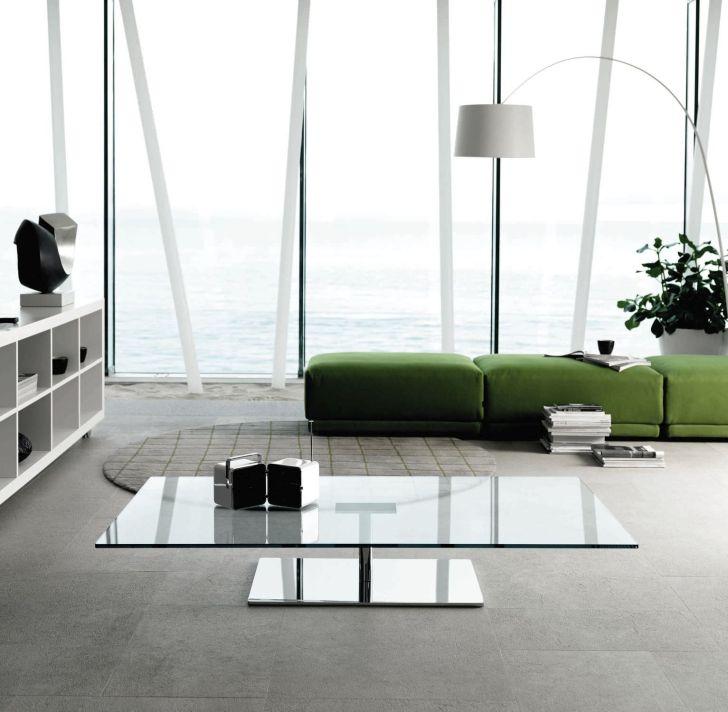 Mirrored Furniture Design Rectangular Coffee Table