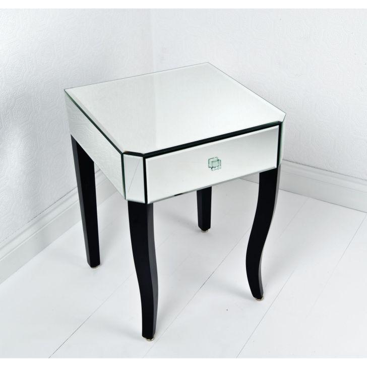 Mirrored Furniture Design Sorrento Side Table