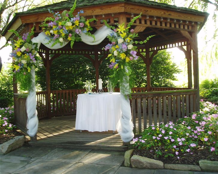 Outdoor Gazebo Design for Wedding
