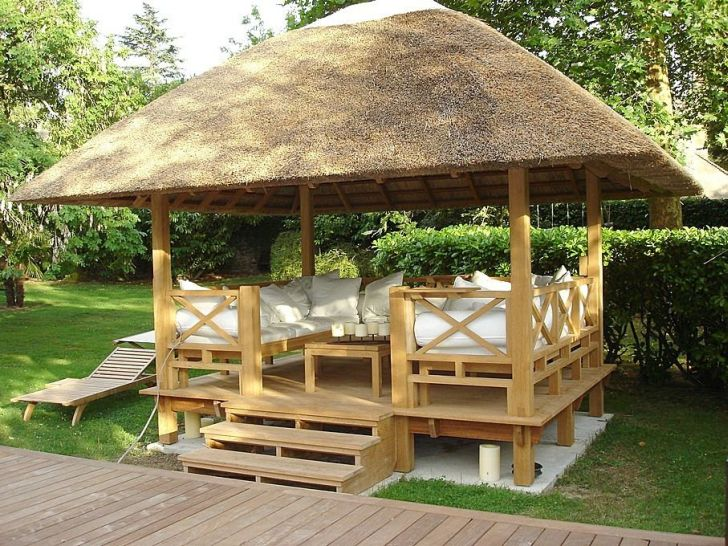 Outdoor Gazebo Design with Classic Ideas