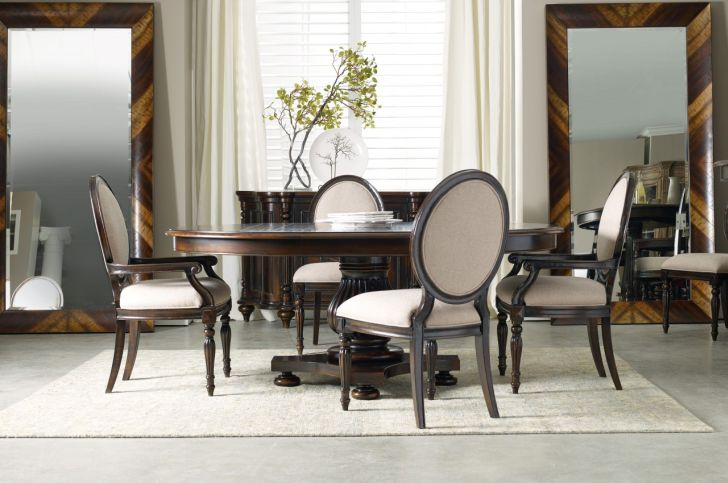Pedestal Dining Table Set 54 Inch Round