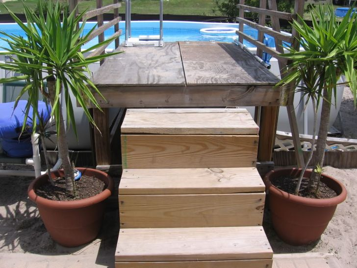 Pool Stairs Accessories