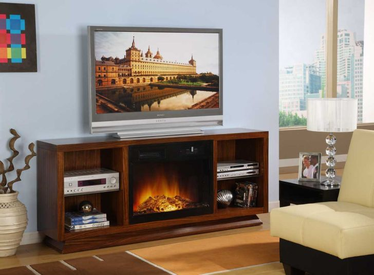 TV Stand Fireplace Combo Costco