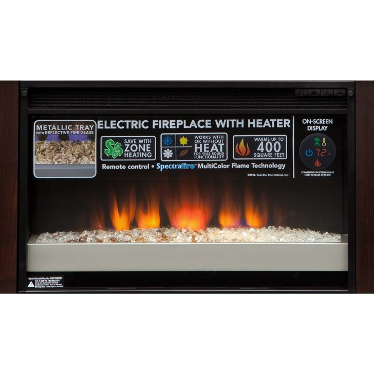 TV Stand Fireplace Heater