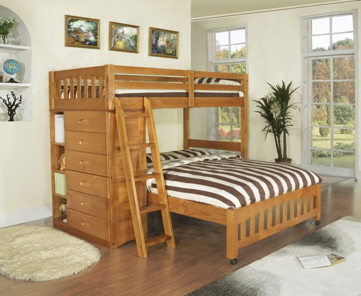 Triple Bunk Bed Plans Twin Over Full