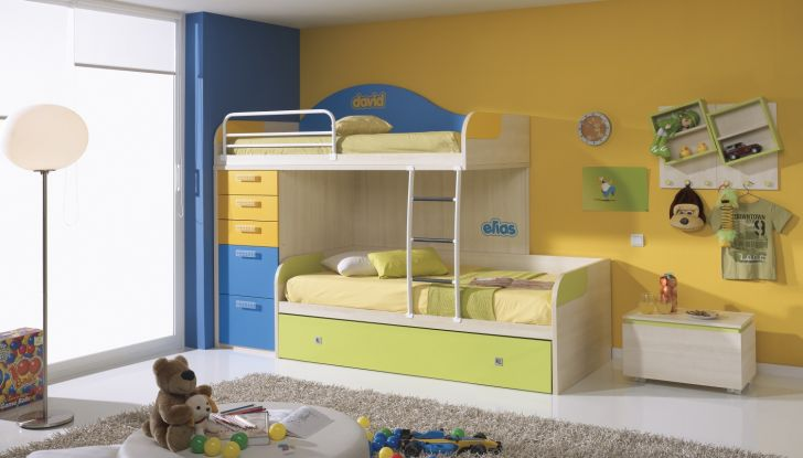 Triple Bunk Bed Plans with Drawers and Trundle