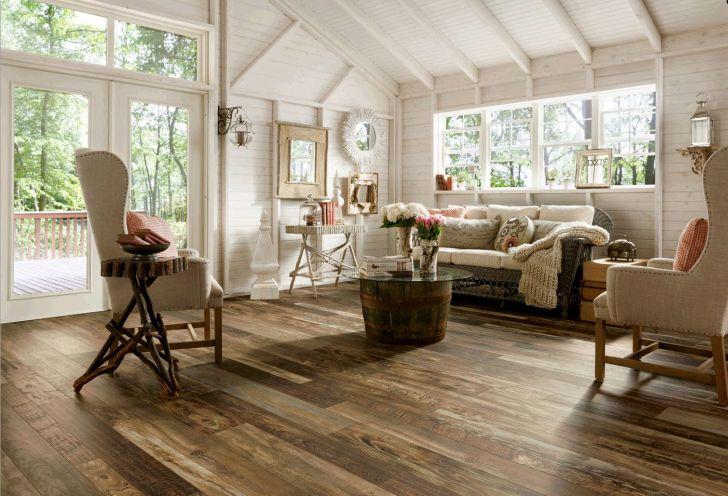 Vinyl Flooring That Looks Like Wood with Rround Barrel Coffee Table
