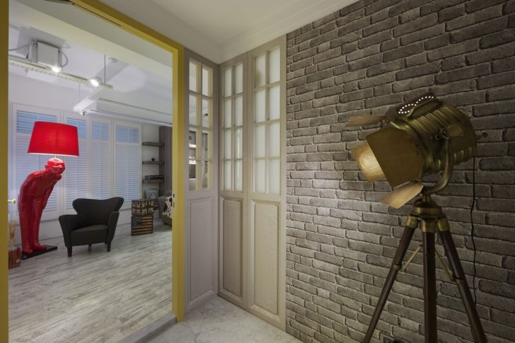 Futuristic Apartment Design with Architecture Modern Flat 1