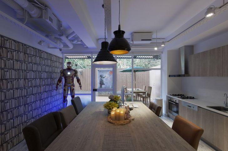 Futuristic Apartment Design with Architecture Modern Flat 12