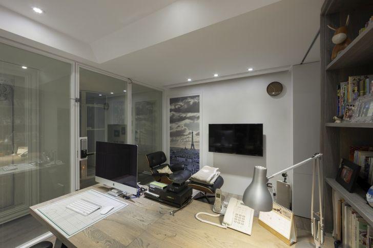 Futuristic Apartment Design with Architecture Modern Flat 21