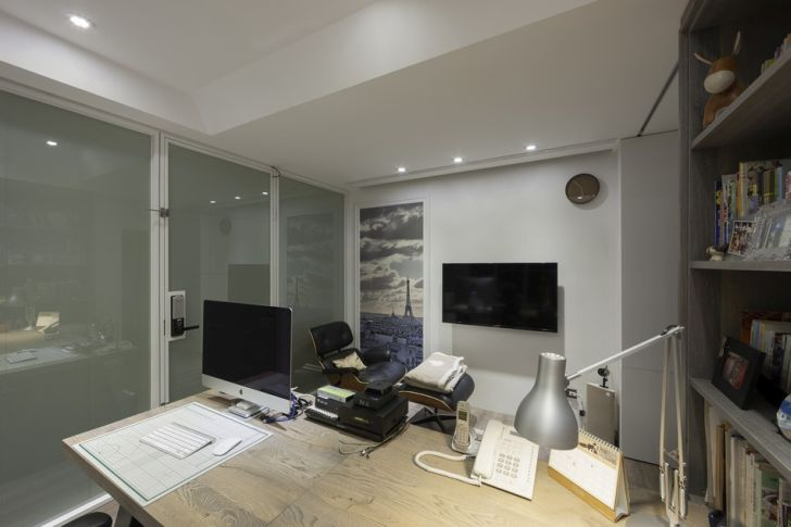Futuristic Apartment Design with Architecture Modern Flat 22