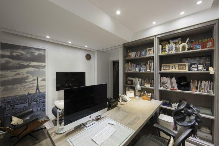 Futuristic Apartment Design with Architecture Modern Flat 23