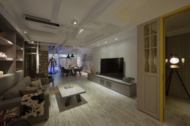 Futuristic Apartment Design with Architecture Modern Flat 3