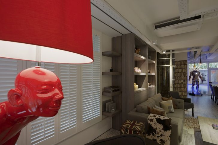 Futuristic Apartment Design with Architecture Modern Flat 4
