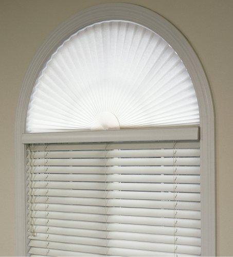 Simple Yet Elegant Window Treatments With Arch Window