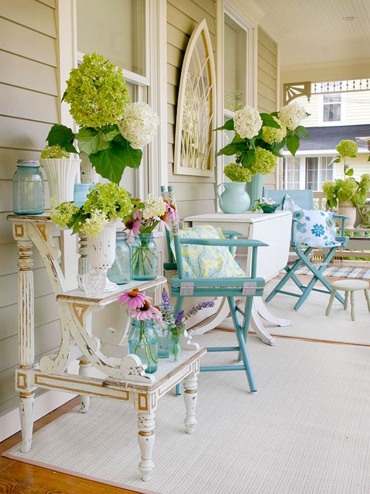 Small Front Porch Decorating Ideas - Home Design Tips