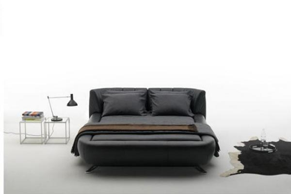Leather Beds De Sede with Black Color Ideas
