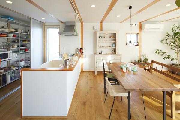Open Japanese Kitchen Ideas
