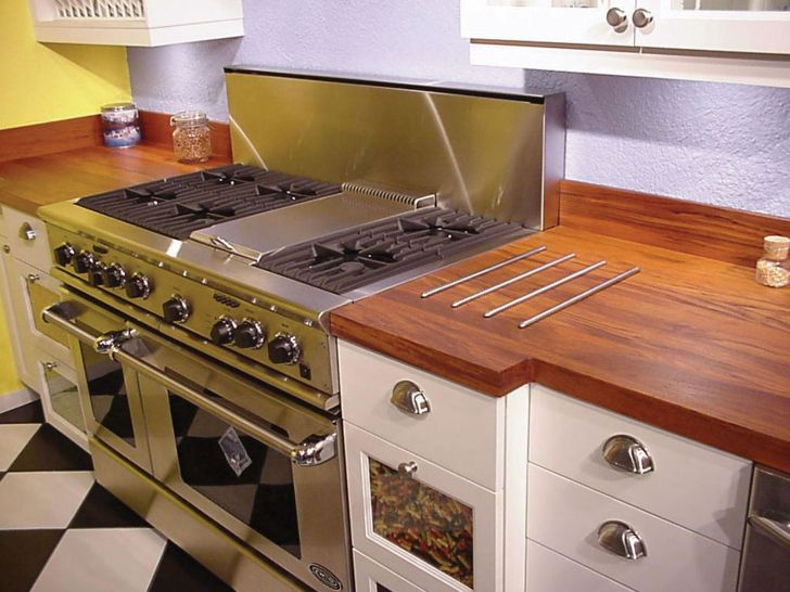 Wood Kitchen Countertops Pros and Cons