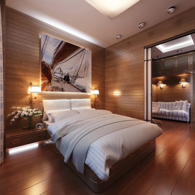 Bedroom Decoration Inspired from Travelling
