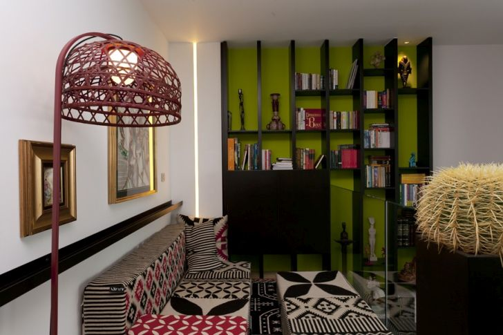Beautiful Loft Design with Artistic Touch by Sofia Petrova