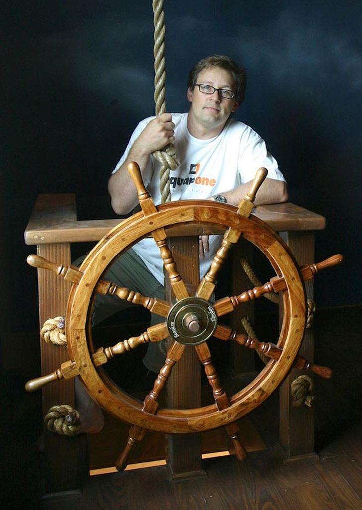 Pirate Ship Inspired Bedroom