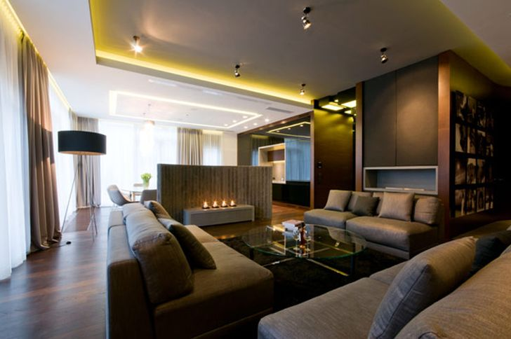 Beautiful Apartment with Perfect Mixture of Materials and Textures