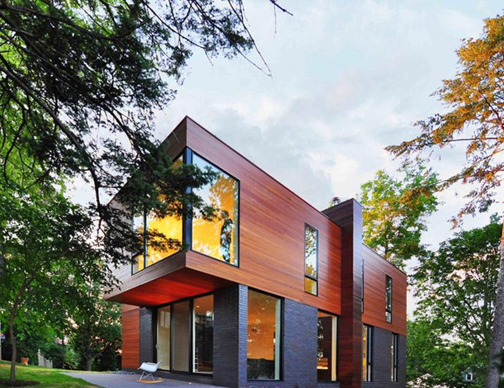 Family Home with Contemporary Style