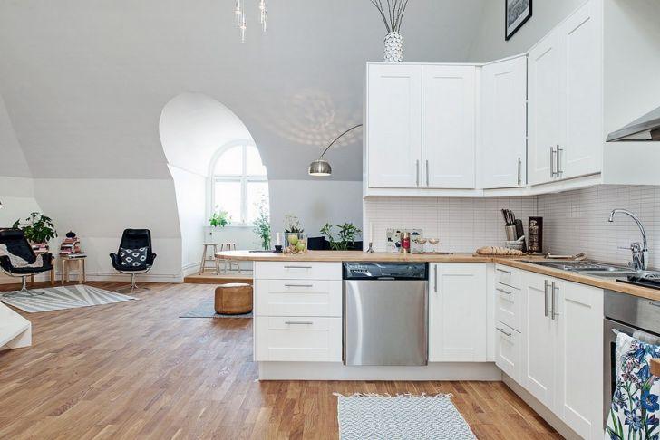 Cozy Scandinavian Duplex in Gothenburg