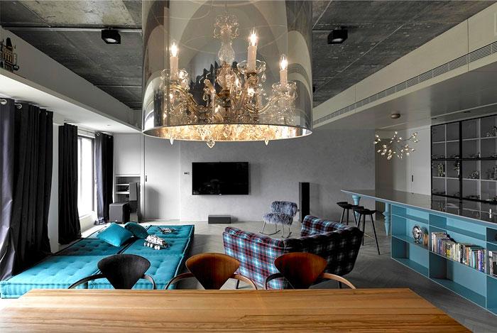 Apartment in Taipei by Studio Ganna Design