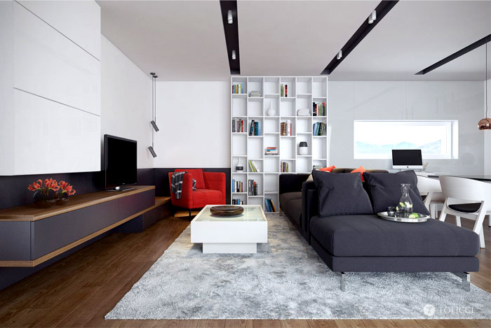 Modern Interior by Tolicci Design Studio