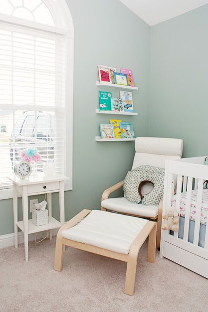 ikea poang chair for using in the nursery