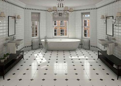 bathroom floor tile ideas for small bathrooms