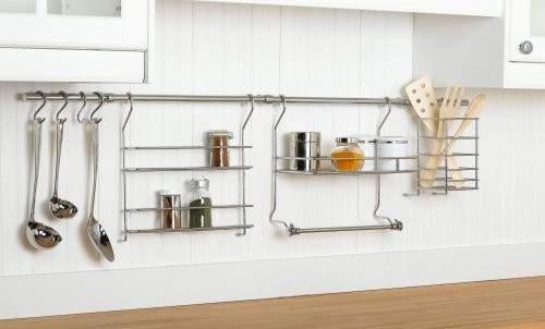 Kitchen Utensil Holder Wall Mounted