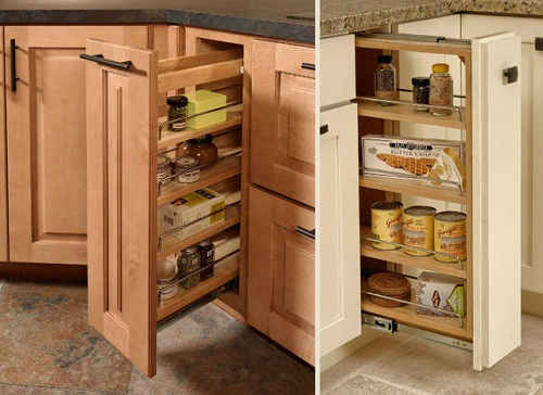 Kitchen cabinet drawers replacement home design tips and guides Handleless kitchen drawers design