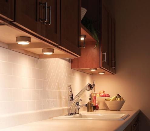Under Cabinet Lighting Pucks