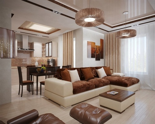 Living Room Color Schemes Brown Sofa