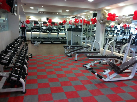 Interlocking Floor Tiles Gym