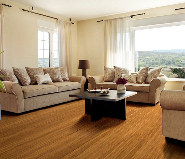 Carbonized Bamboo Wood Flooring