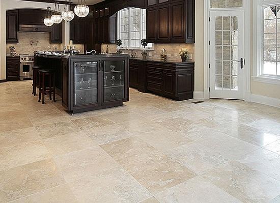 Travertine Stone Flooring For Kitchens : Travertine flooring pros and cons thefloors