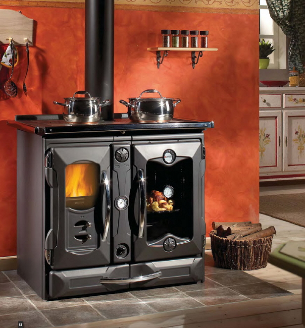 Wood Burning Cook Stoves with Oven