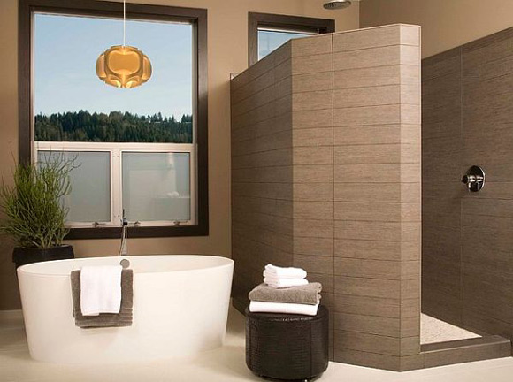 Doorless Walk In Shower Designs