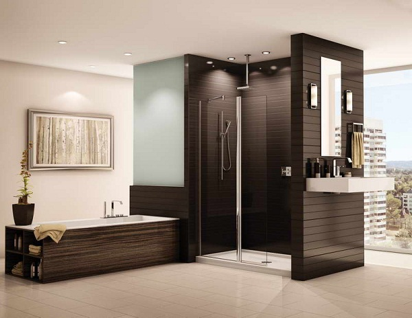 Doorless Shower Designs for Small Bathrooms