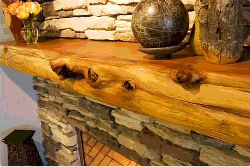 Rustic Fireplace Mantel Designs Ideas