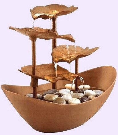 Tabletop Water Fountain Designs